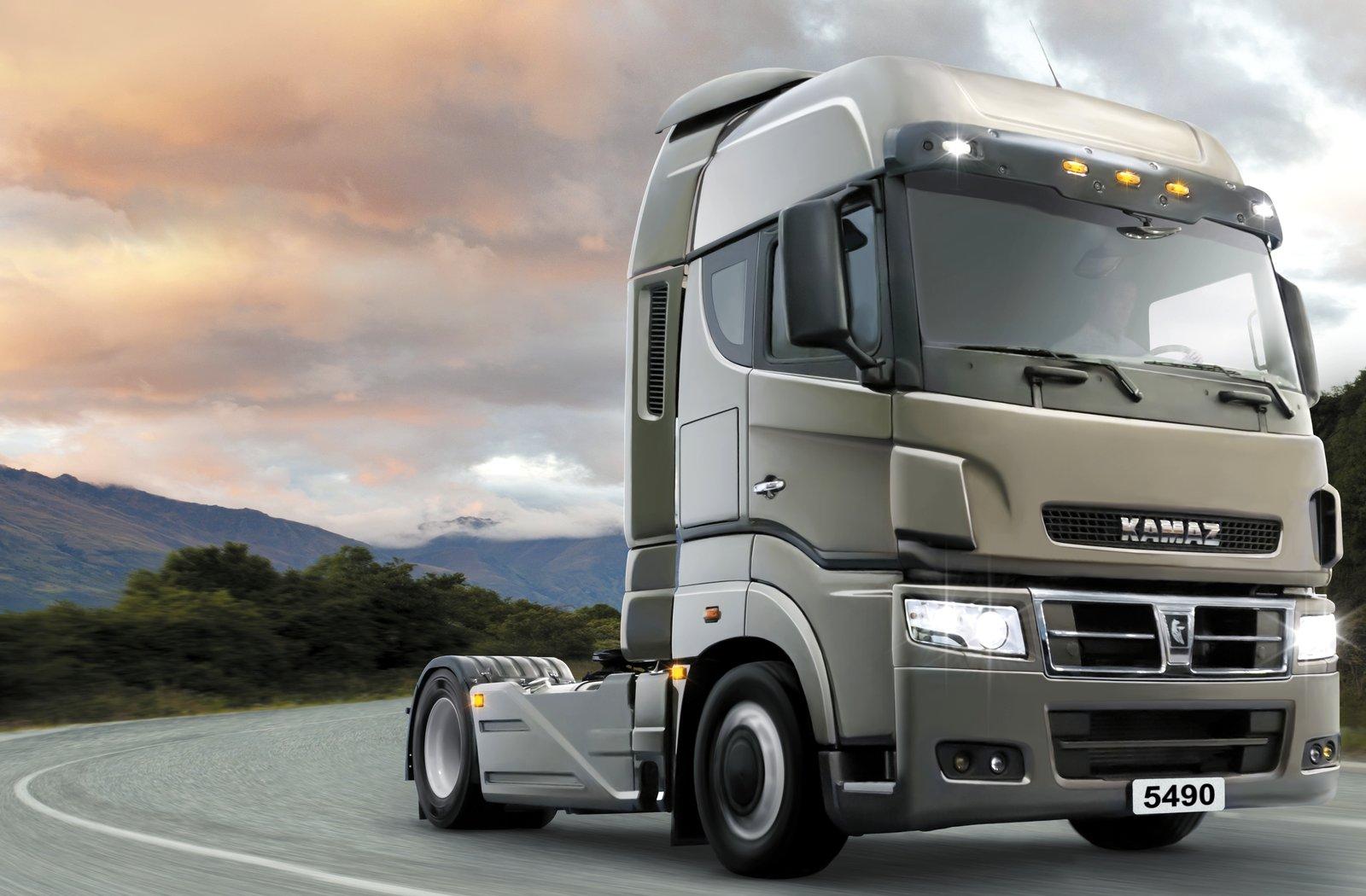 Фото грузовика нового камаза