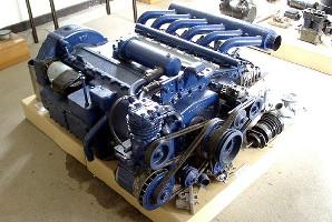 Двигатель MAN D2156