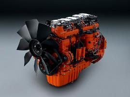Двигатель Scania DC9