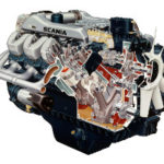 Двигатель Scania DS14