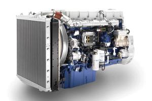 Двигатель Volvo D16G750
