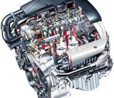 Двигатель Mercedes OM611