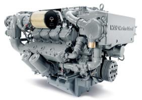 Двигатель MAN D2848