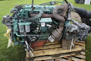 Двигатель Volvo D6A210