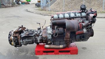 Двигатель MAN D2566