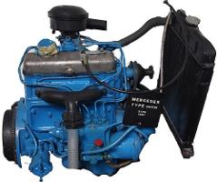 Двигатель Mercedes OM636
