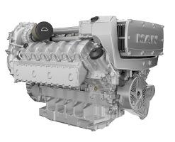 Двигатель MAN D2862
