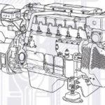 Двигатель Volvo D7C290