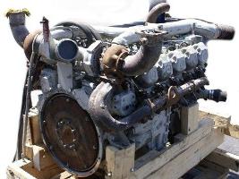 Двигатель Mersedes OM443