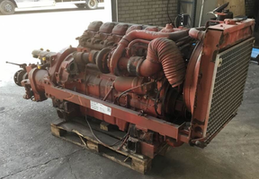 ДвигательMercedes OM427
